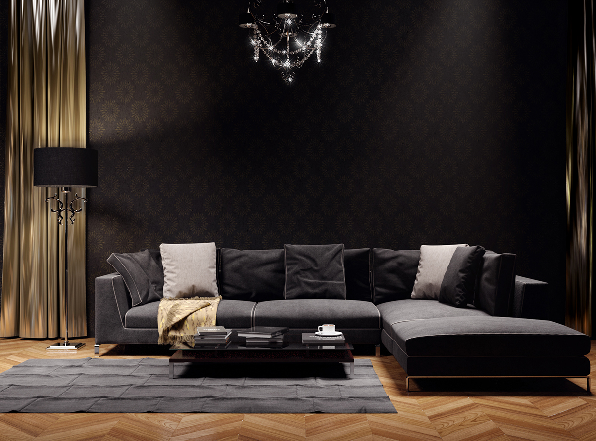 ray sofa b b italia on behance. Black Bedroom Furniture Sets. Home Design Ideas