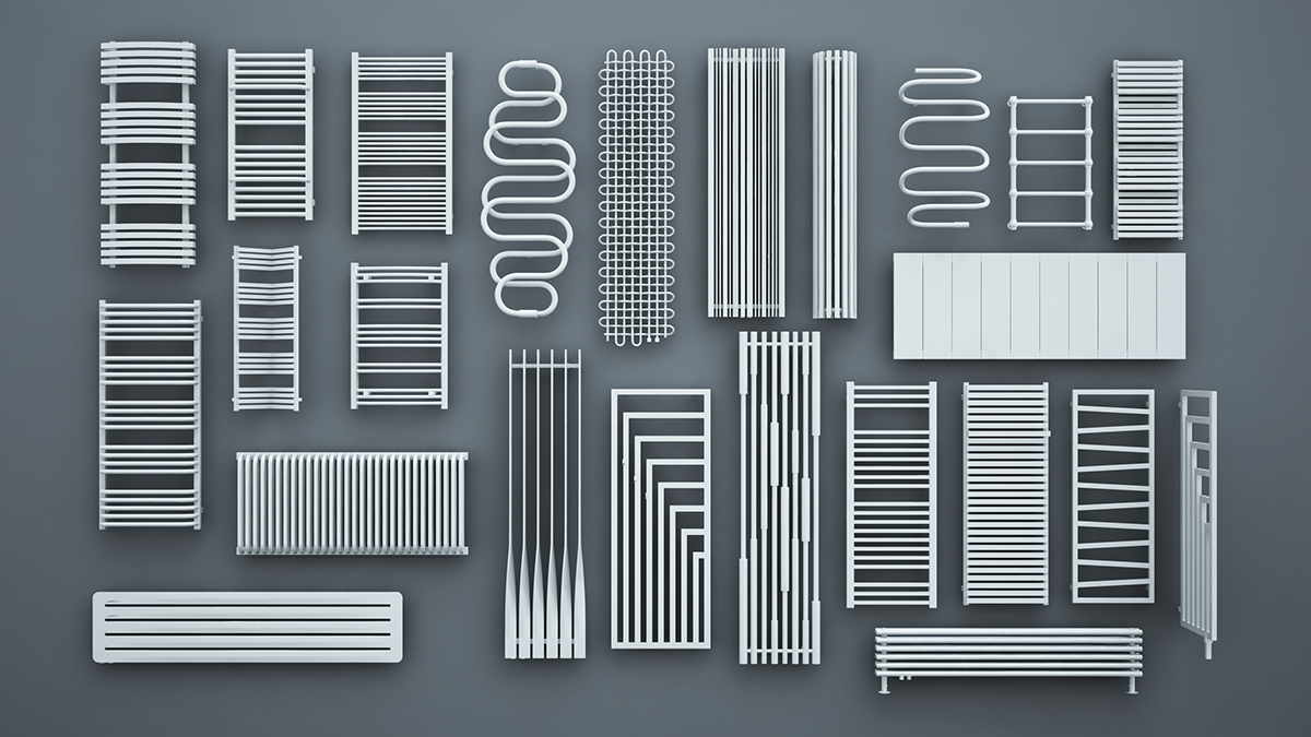 Terma radiators vol 2 FREE 3D models ready to download on Behance