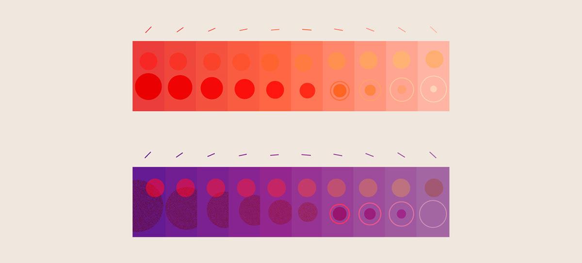 automated videos branding  campaign COVid data visualization Data Viz gradient grain pandemic video