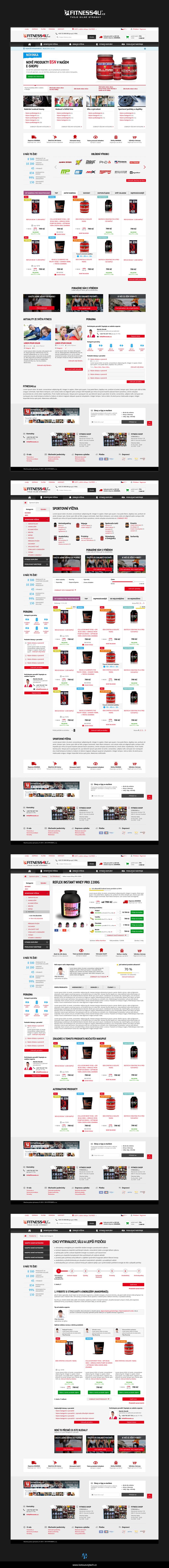 fitness Ecommerce e-shop