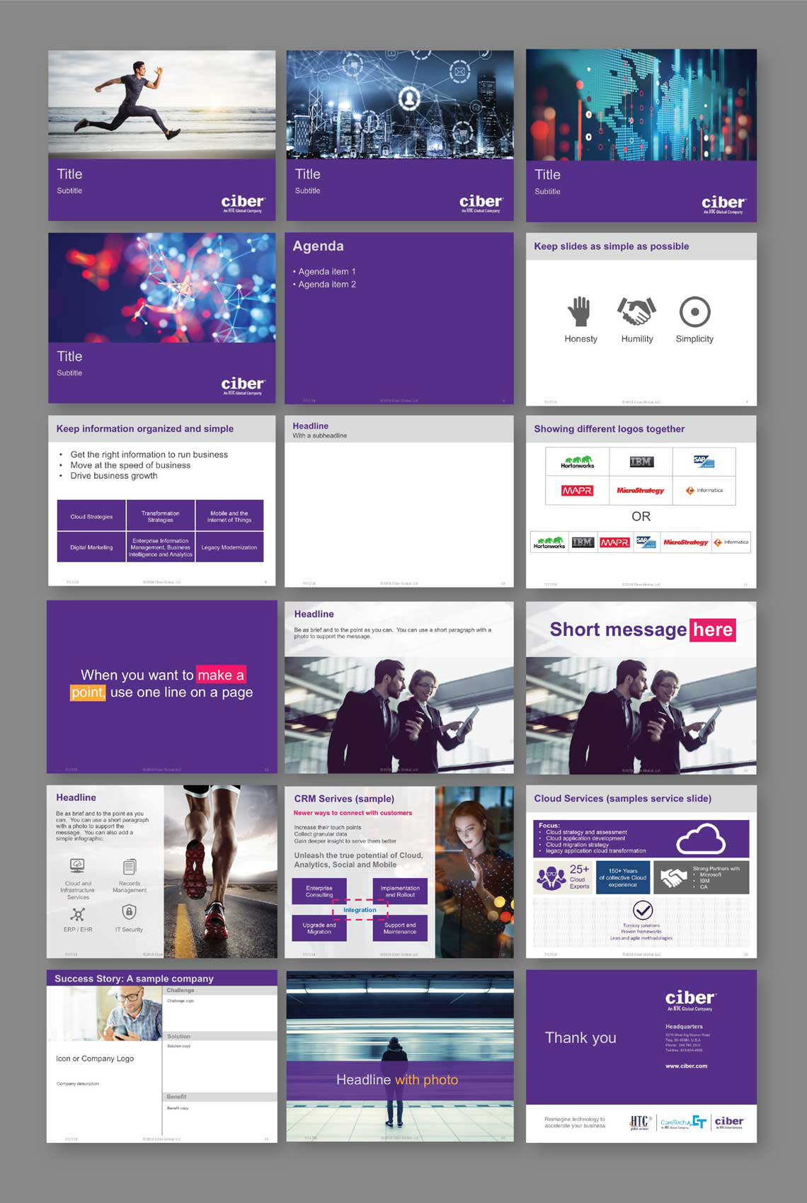 Powerpoint Template On Behance
