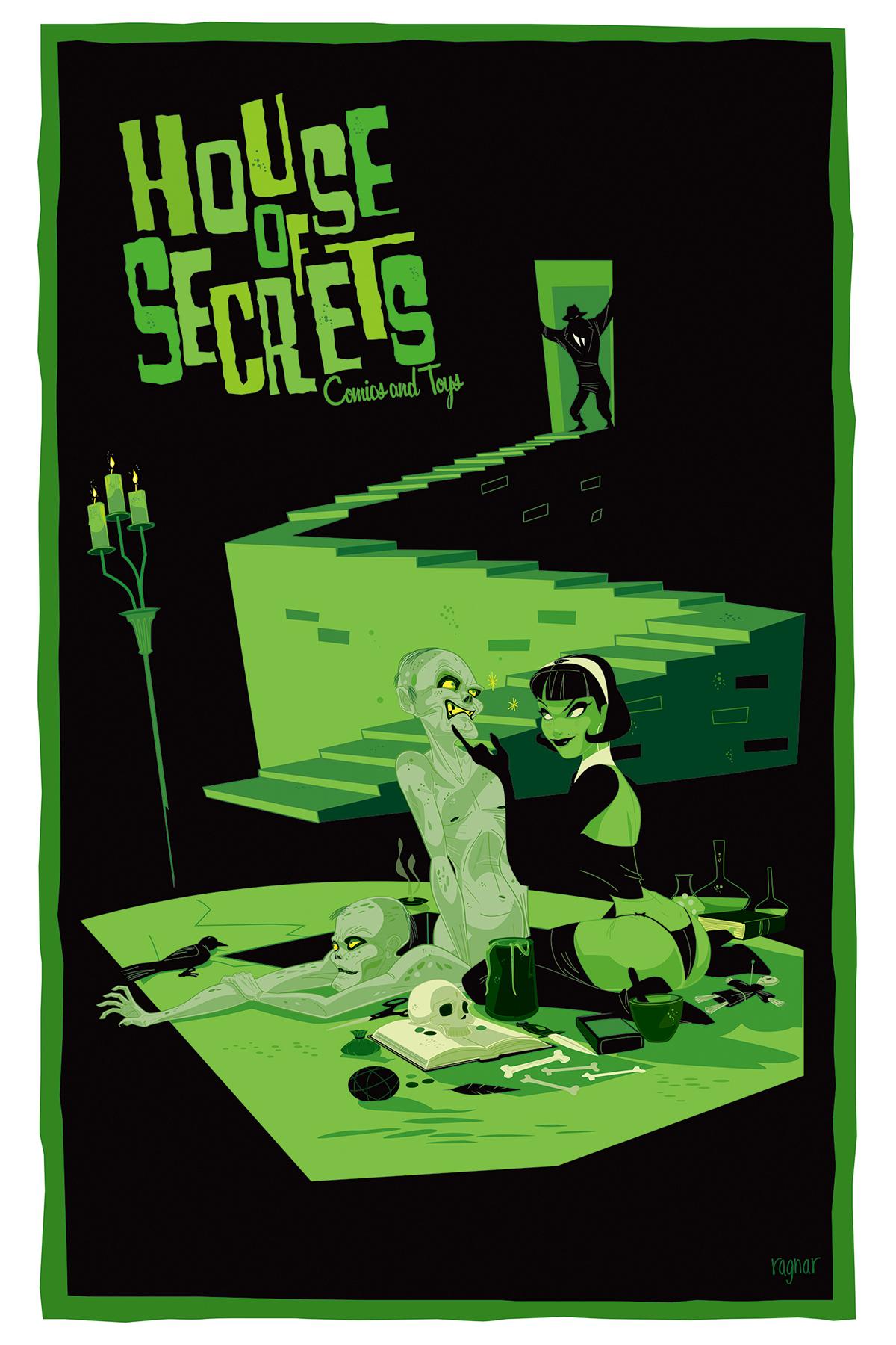 Comic Book poster Moxie Hero