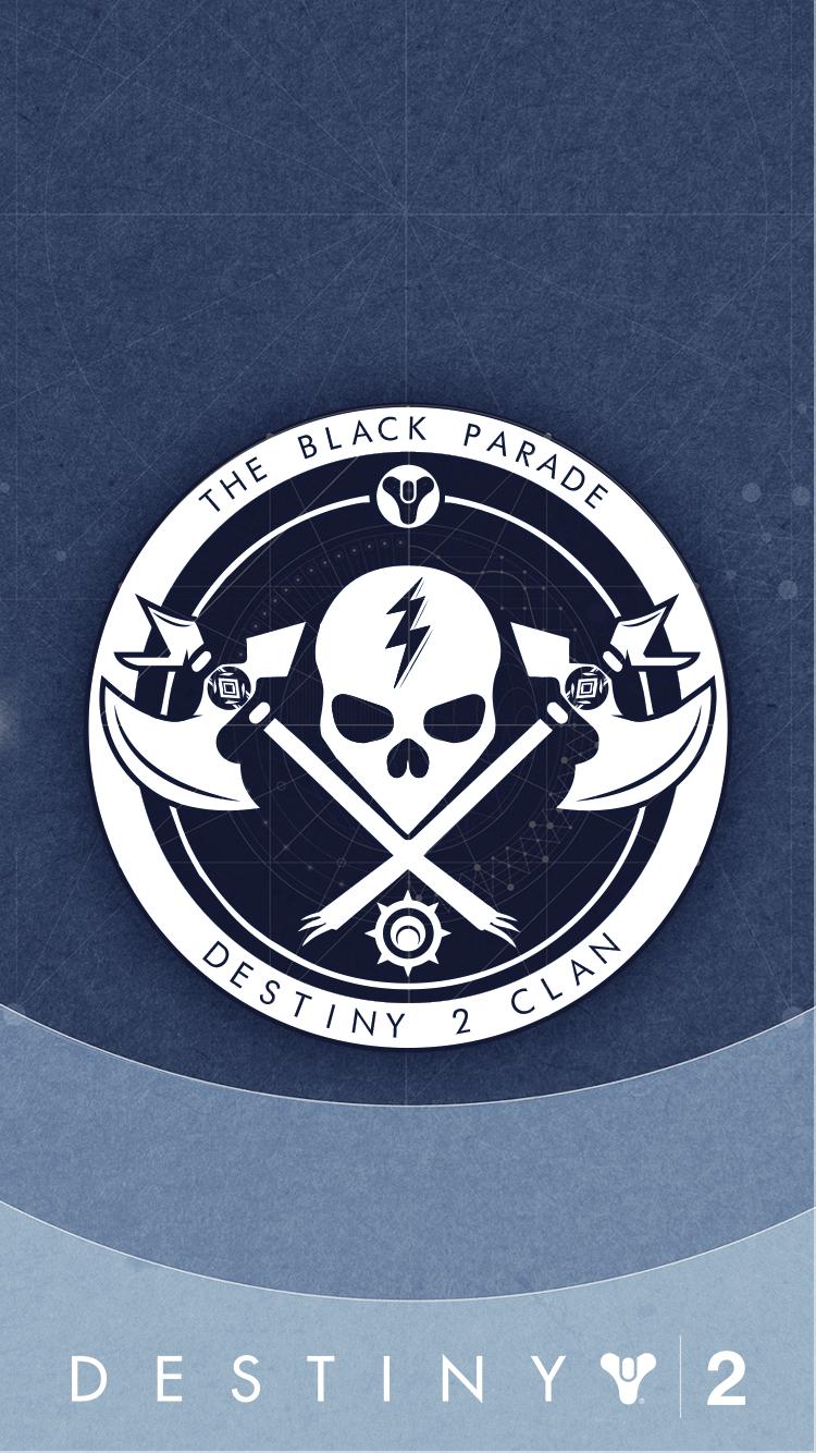 Destiny Logo Black - Emblems are customizable, purchasable ...