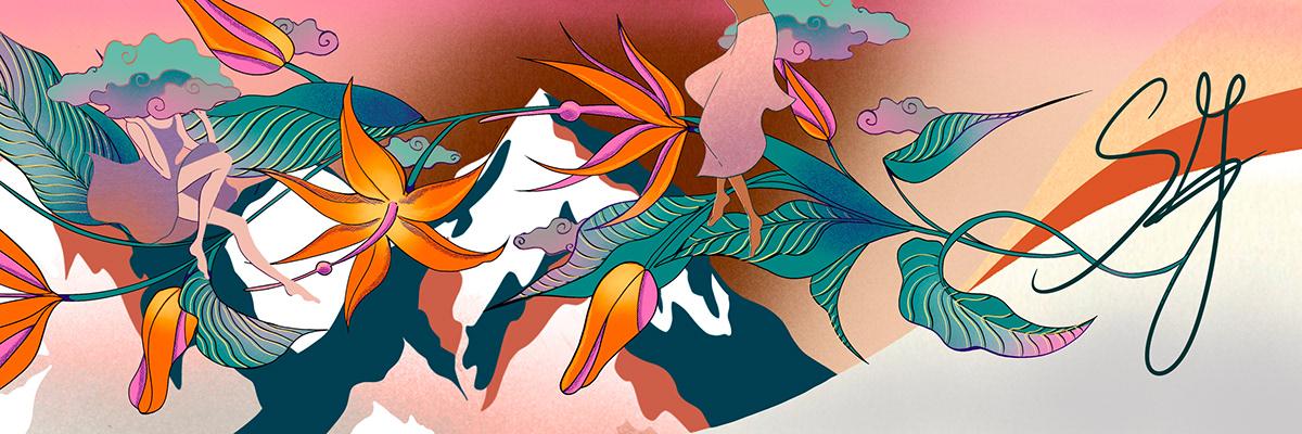 Image may contain: cartoon, drawing and painting