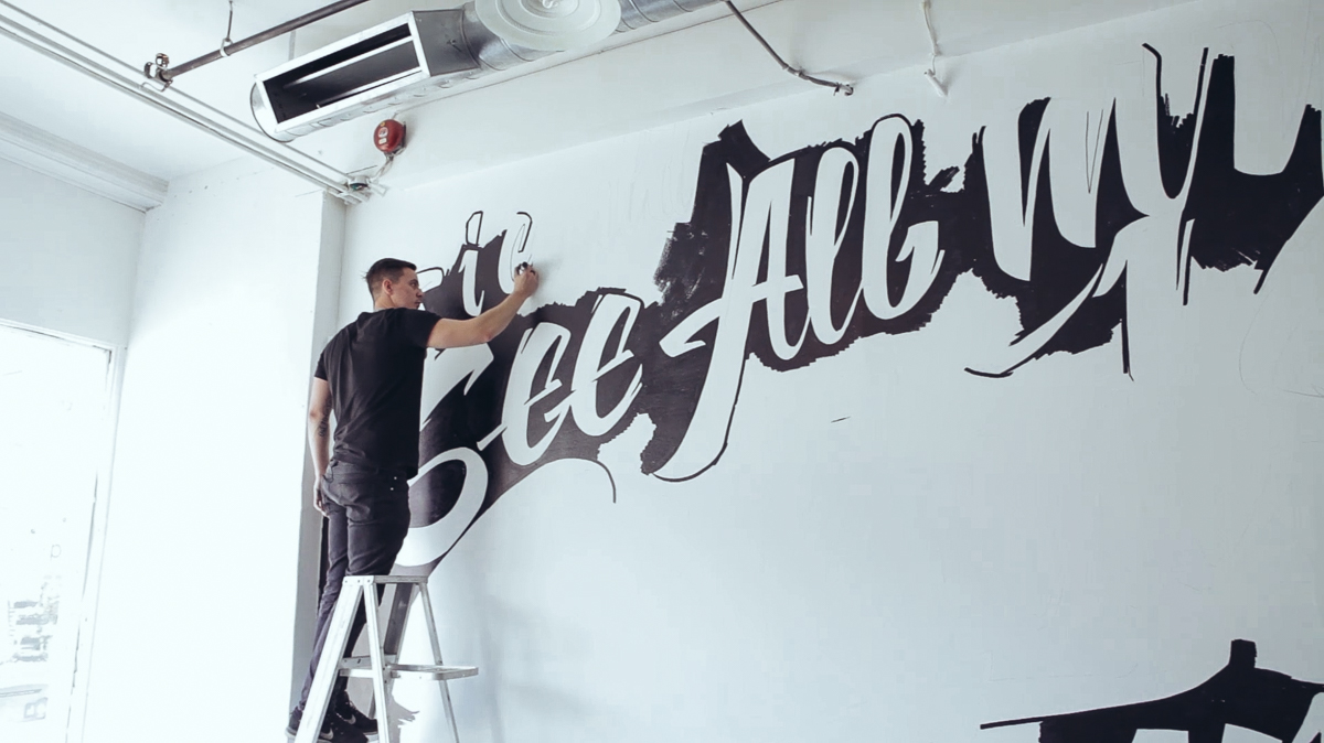 vitaly mural video on behance