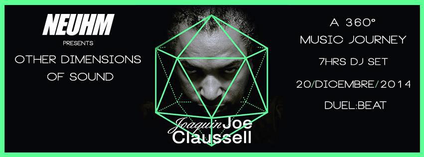 joe claussell art design Grafic MotionGrafic neuhm party Spot promo