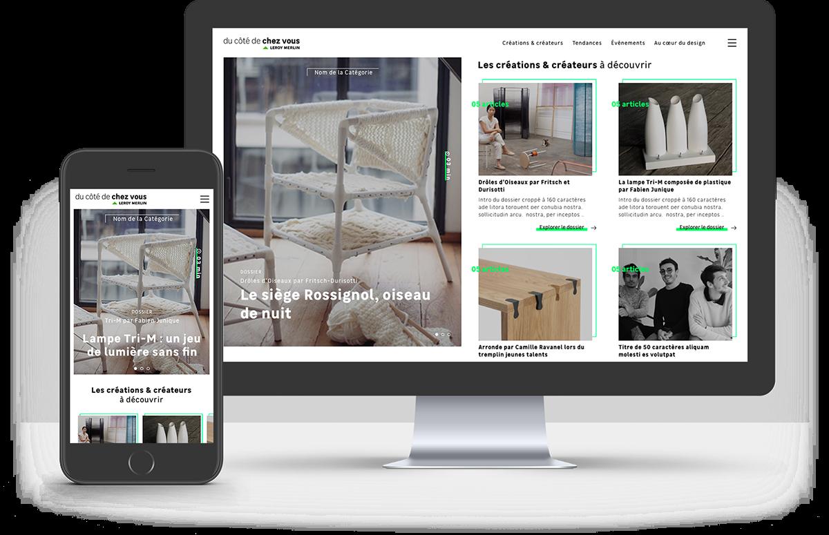 Atomic Design  Webdesign ui design UX design editorial