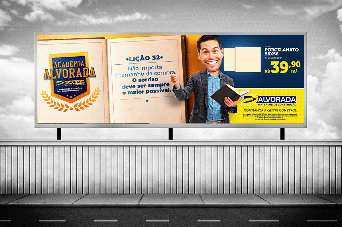 campanha ads ad Materiais de construção loja Propaganda publicidade Outdoor varejo sale
