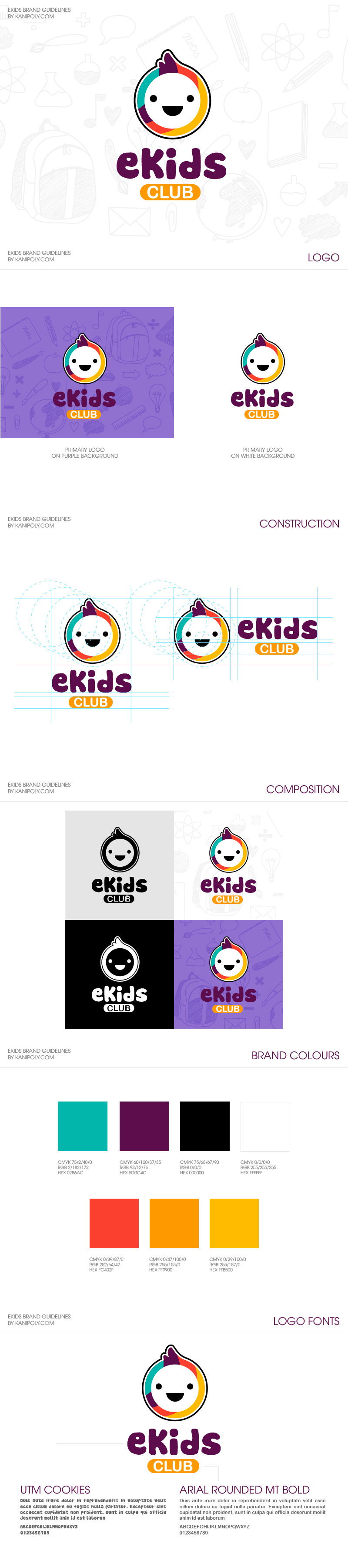 ekids club brand guideline