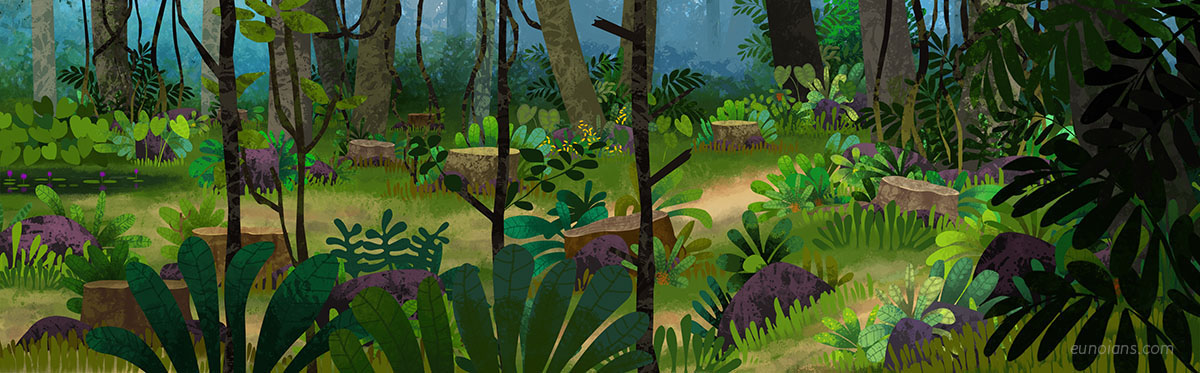 animation  motiongraphics Awareness Video leopard lovefornature illustrations 2DAnimation WWF storyboard forest