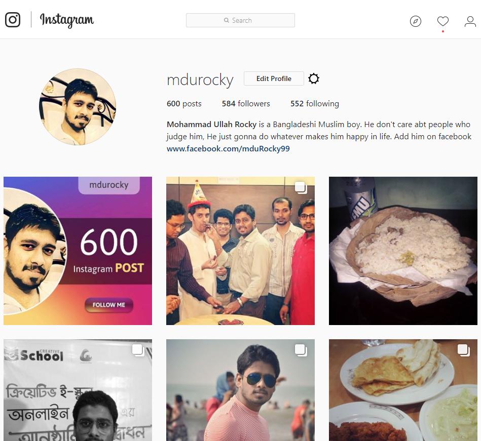 600 followers on instagram on behance 600 Instagram Post On Behance