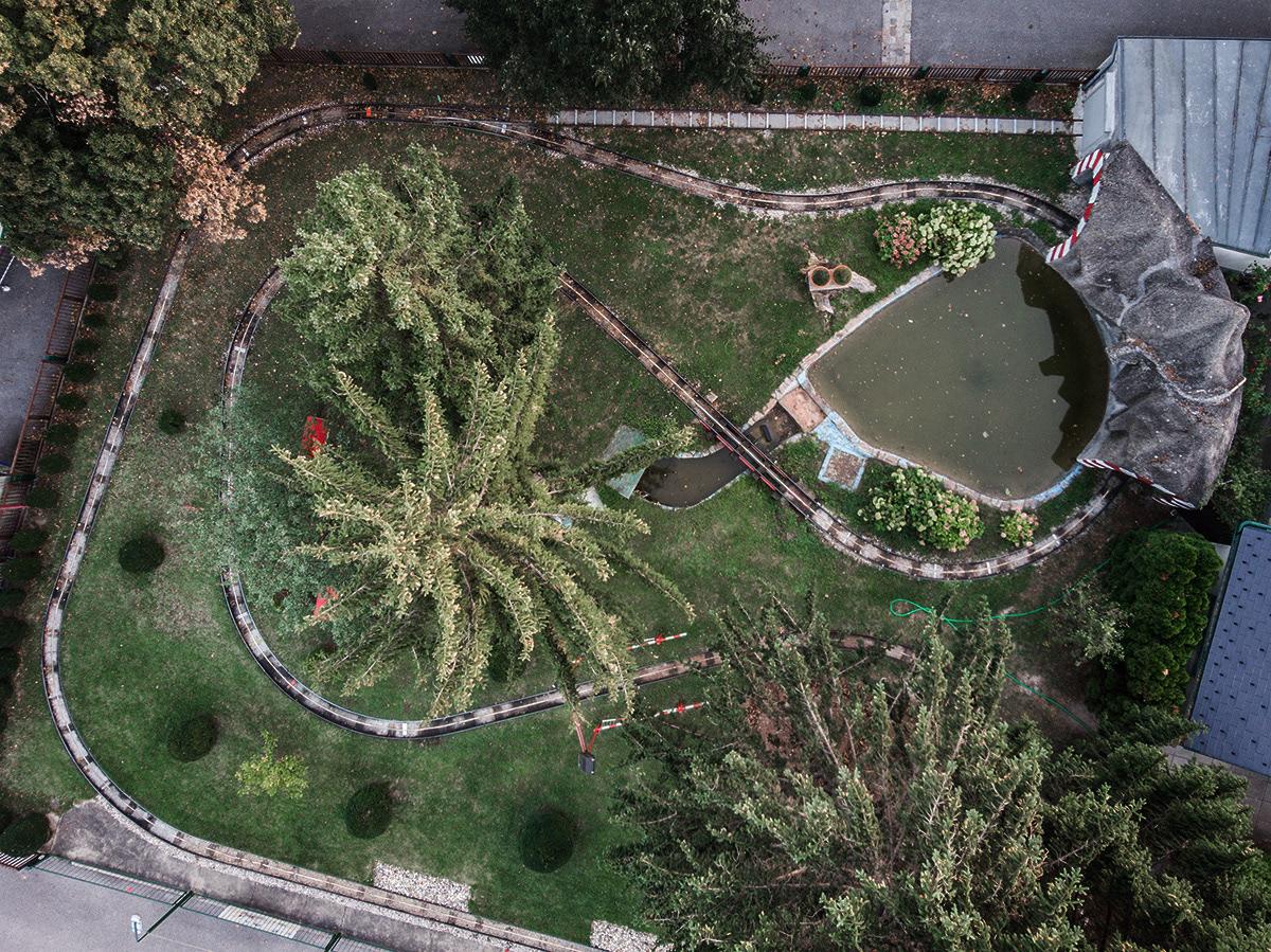 drone funfair birdview FINEART mavic wiener prater vienna
