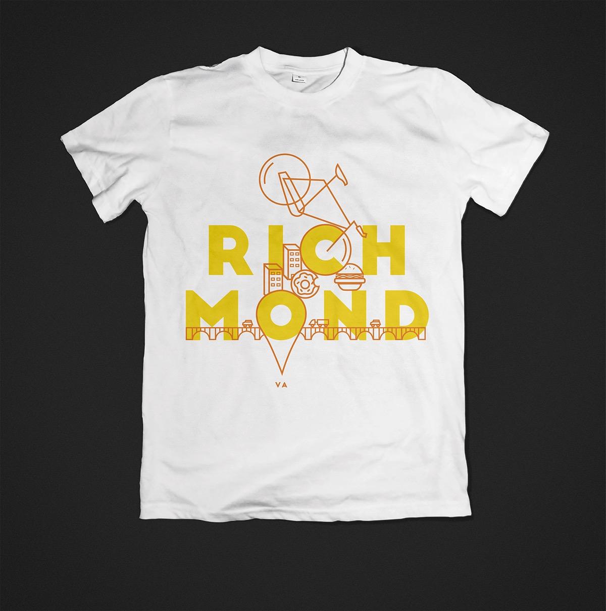 T shirt design richmond va - Winning Design For The Rva Design Competition In Richmond Va