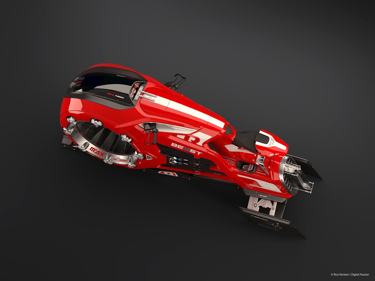 Vehicle contest Substance Painter Allegorithmic 3D