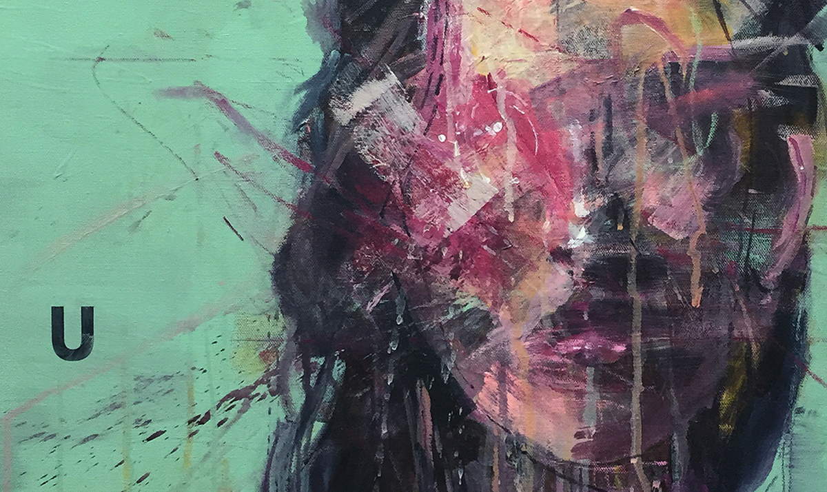 'faking mirror' #006 detail acrylic on_canvas 90.9x72.7cm