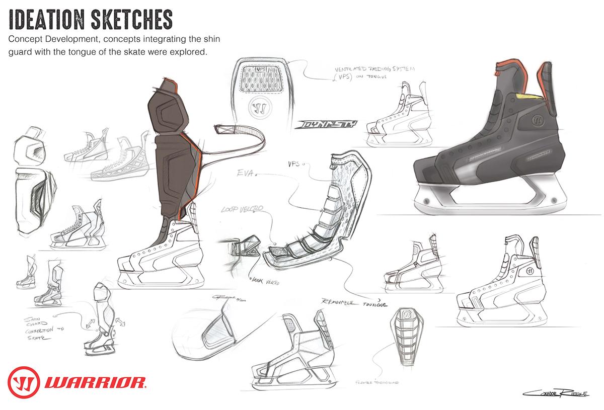 Warrior Dynasty HD1 Skate on CCS Portfolios