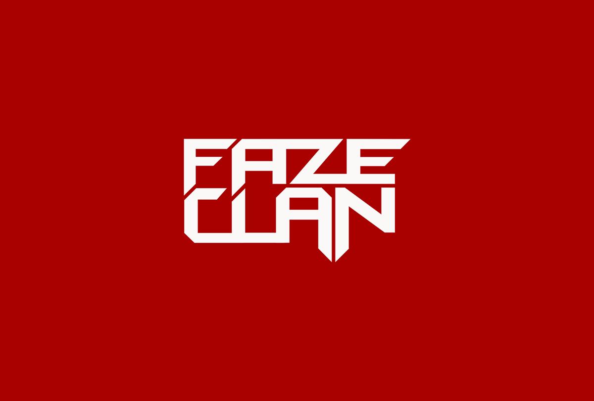 faze clan logo branding on behance rh behance net clan logo maker free clan logo maker csgo