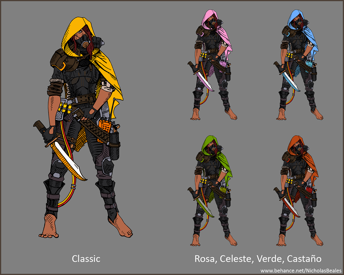 Overwatch Character Design Concept Art : Sombra overwatch on behance