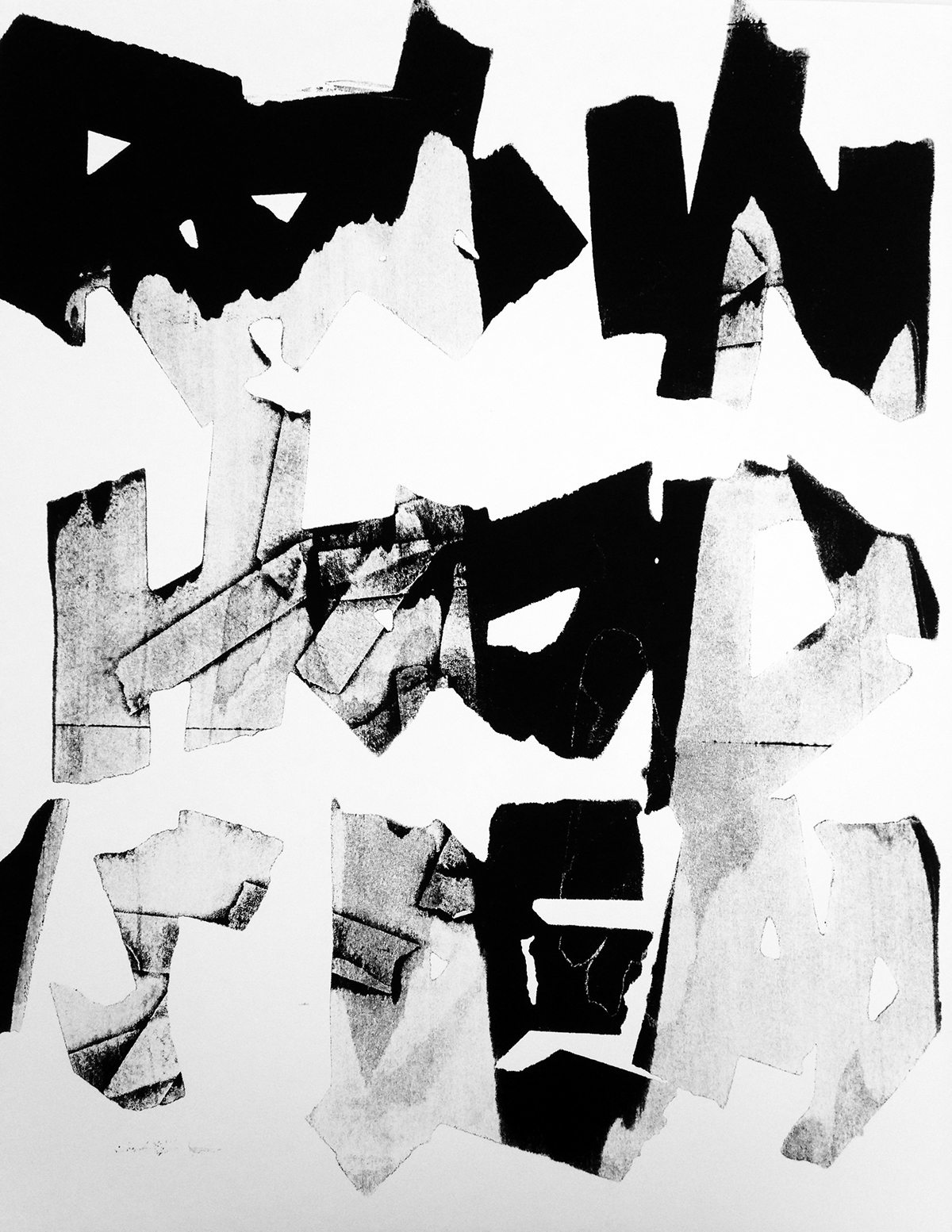 type poster screenprint punk nyc ows