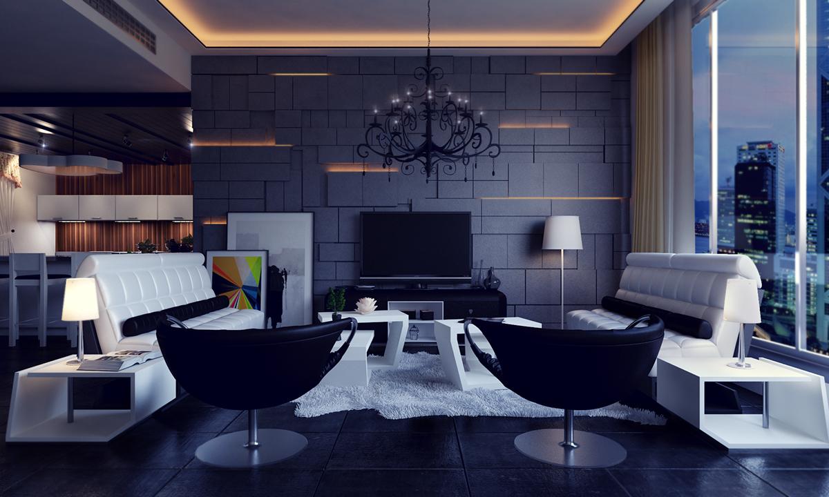 Lamborghini Living Room On Behance