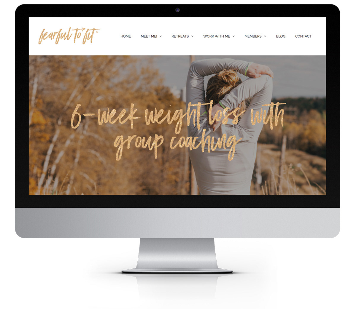 Wordpress Website Design for Health & Wellness Coach