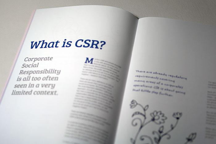 Booklet Saddle Stiched 5 Colour CSR