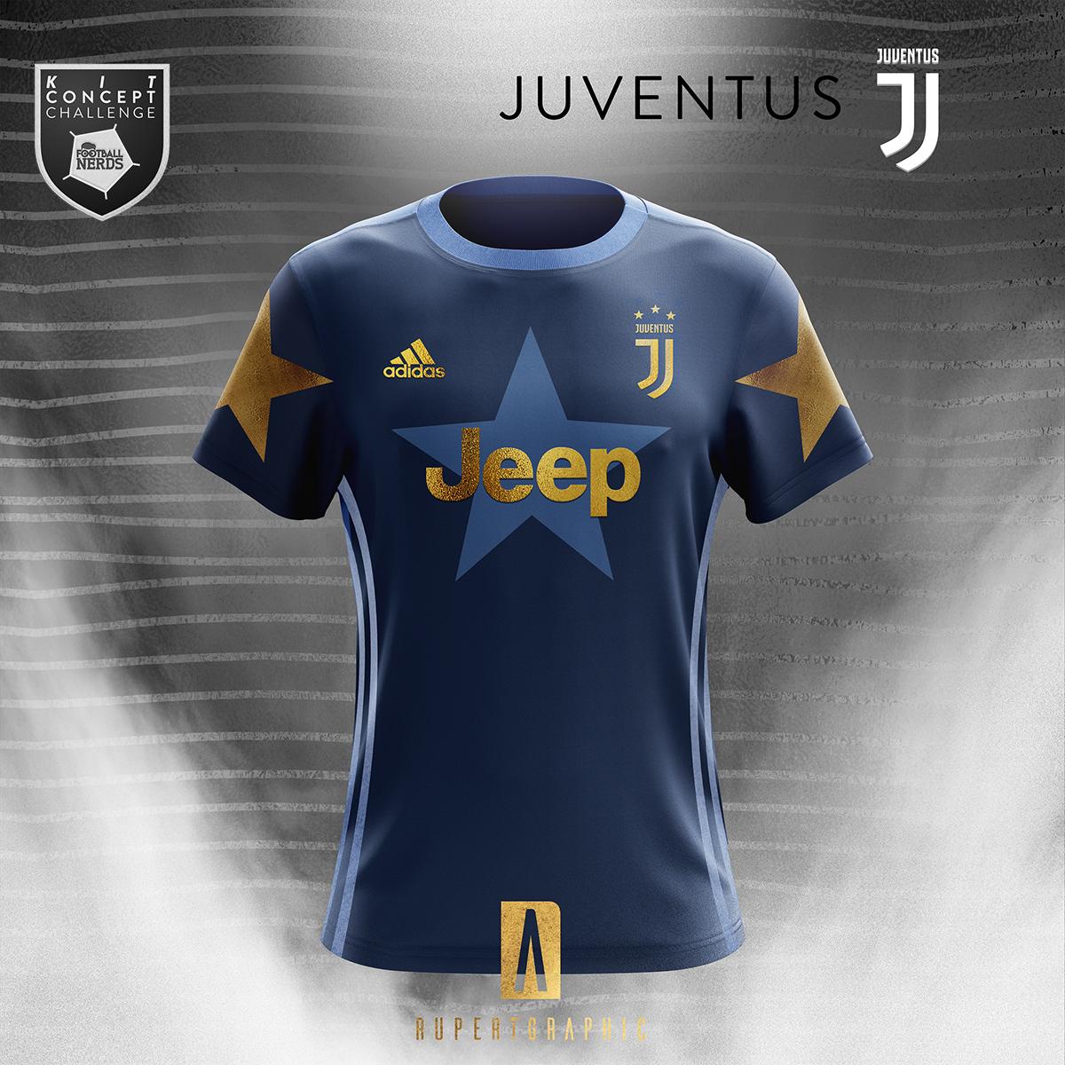0f35edb56 Juventus Concept 2018 19 - Adidas on Pantone Canvas Gallery