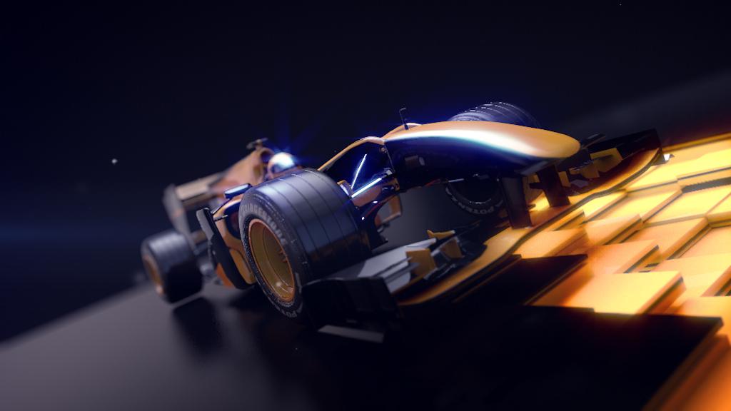 Formula1 Antena3 nitro gp2