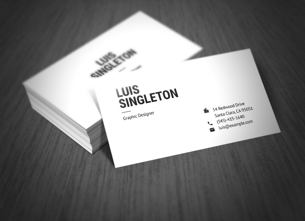 Clean and minimal business card template on behance light and dark version indd idml ai psd formats 35x2 in print ready 300 dpi cmyk bleed free fonts clean business card reheart