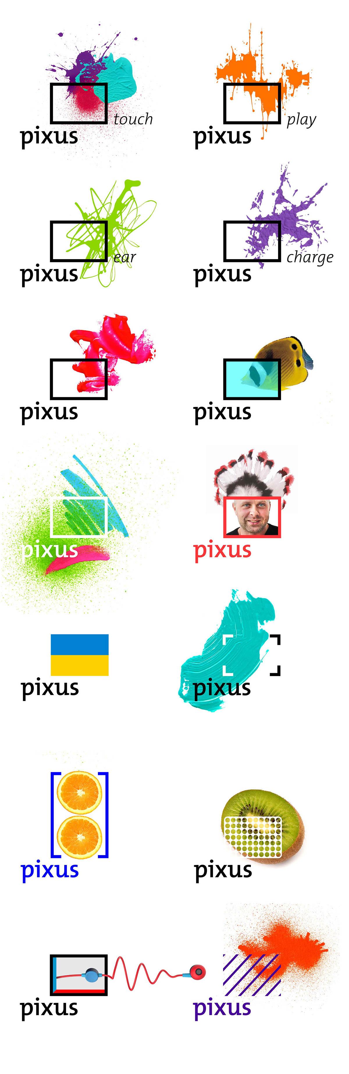 identity logo dynamic identity splash art graphic