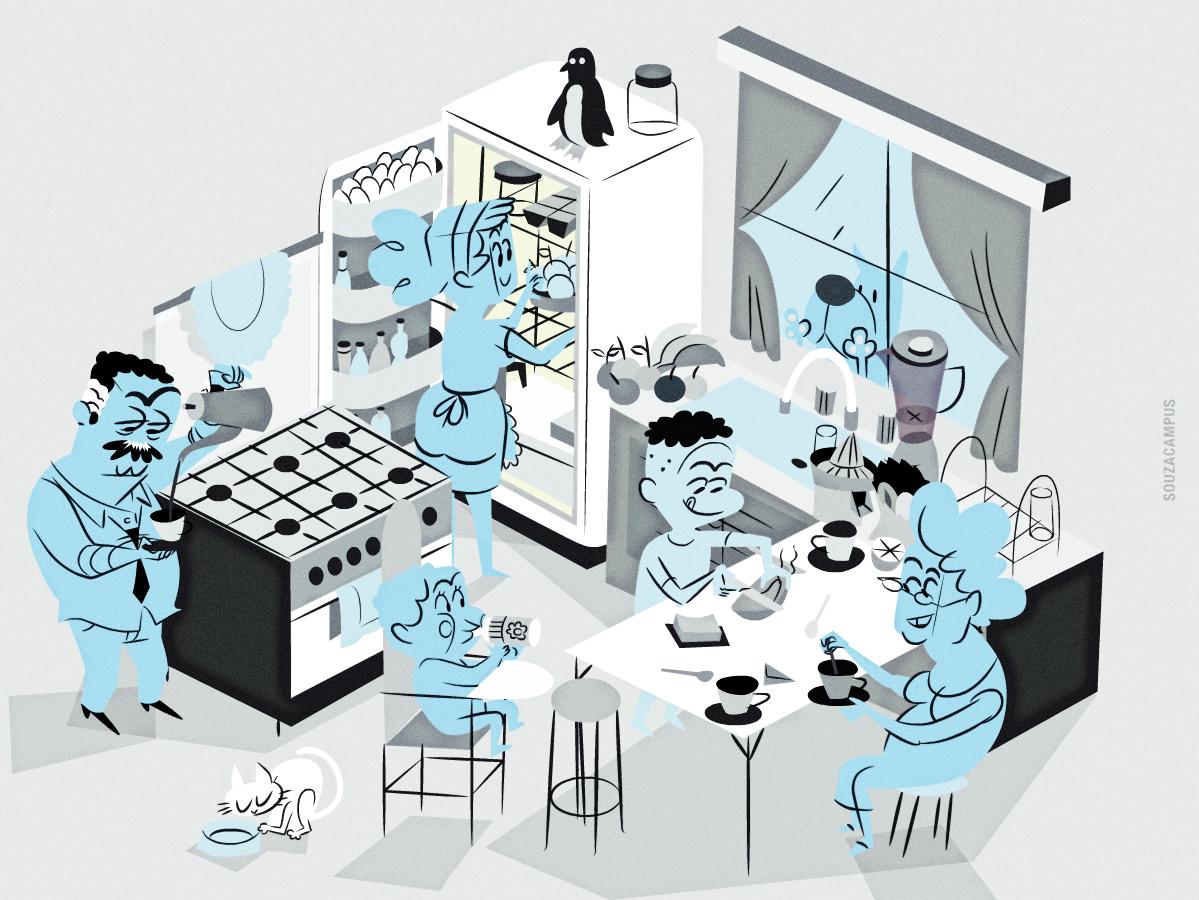 ritmos biológicos familia rotina