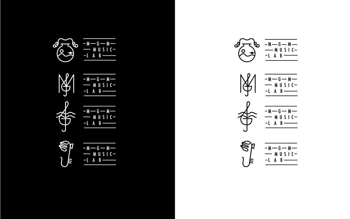 Branding Design: MGM Music LAB on Behance