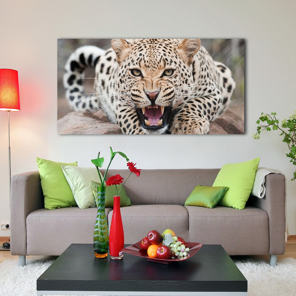 Canvas Mockup In Drawing Room - Free PSD on Behance