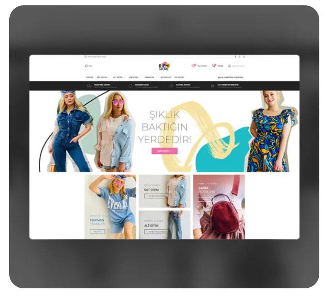 e-commerce e-ticaret Ecommerce elementor Fashion  shop store Woocommerce wordpress