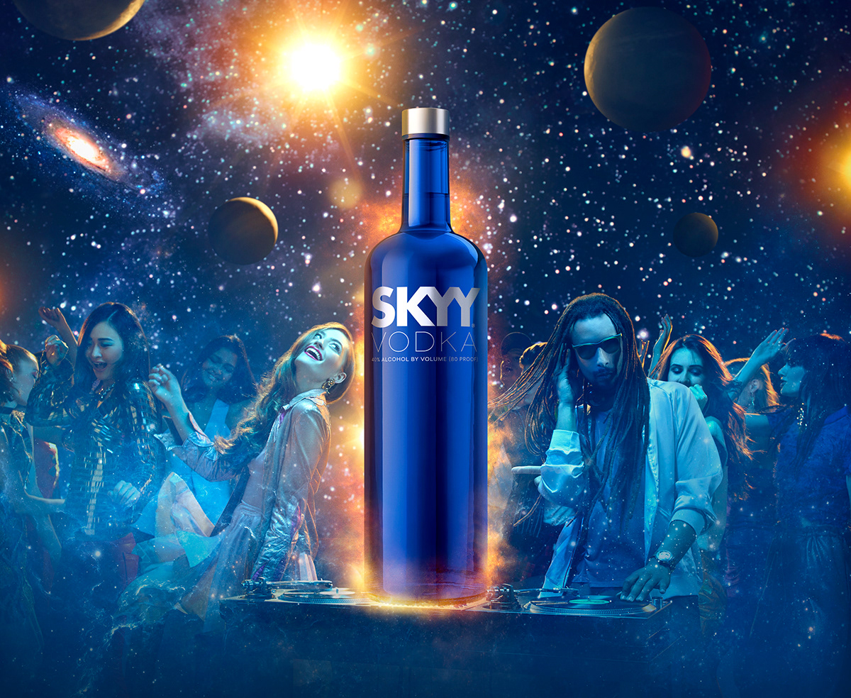 Skyy Vodka On Behance