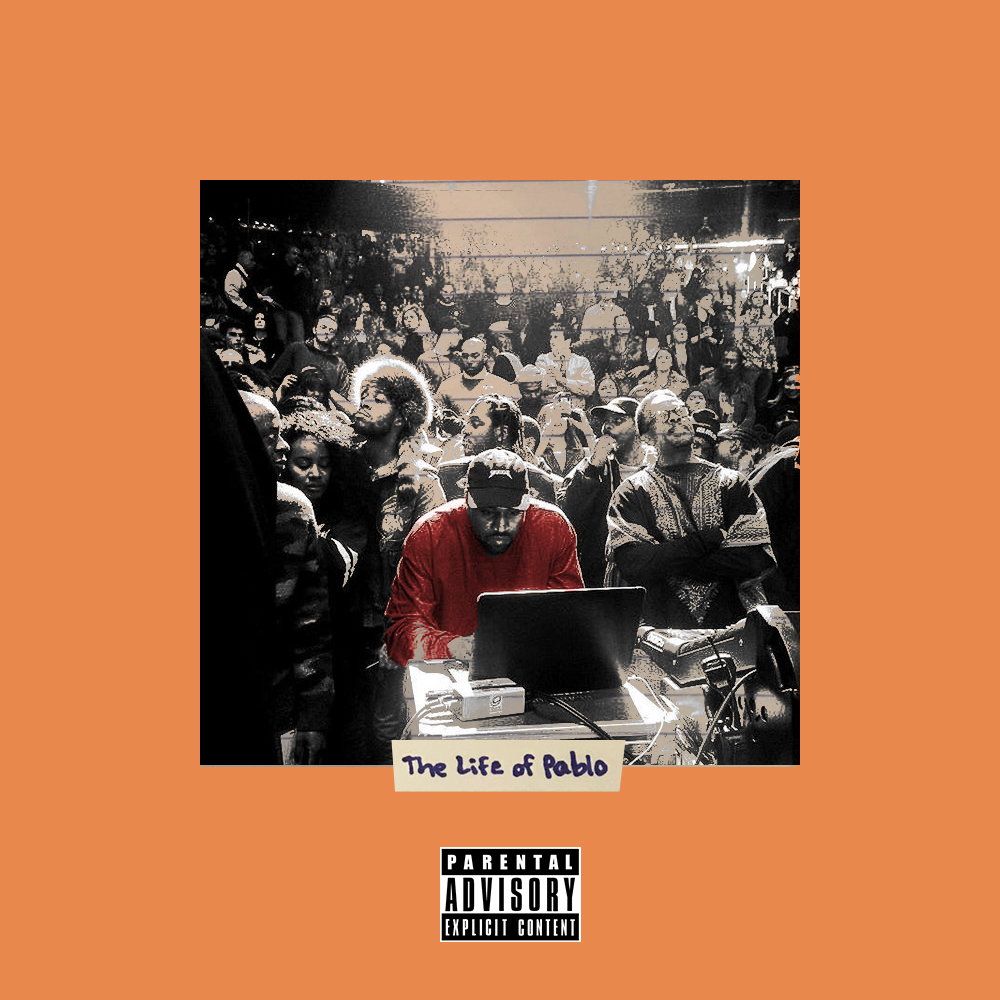 The Life Of Pablo Alternate Covers On Behance