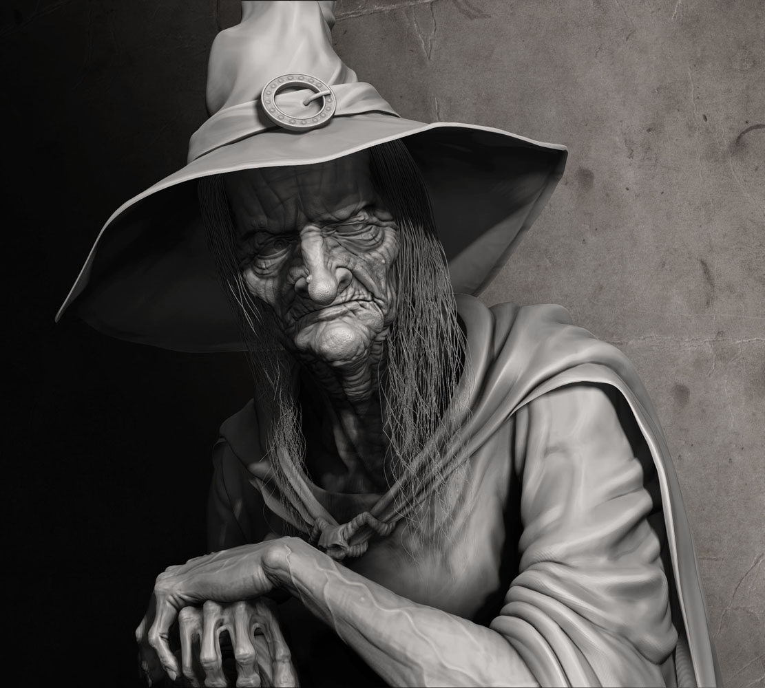 Evil Witch on Behance
