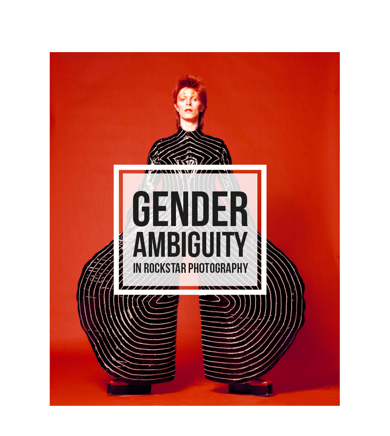 Gender Ambiguity in Rockstar Photography on Behance