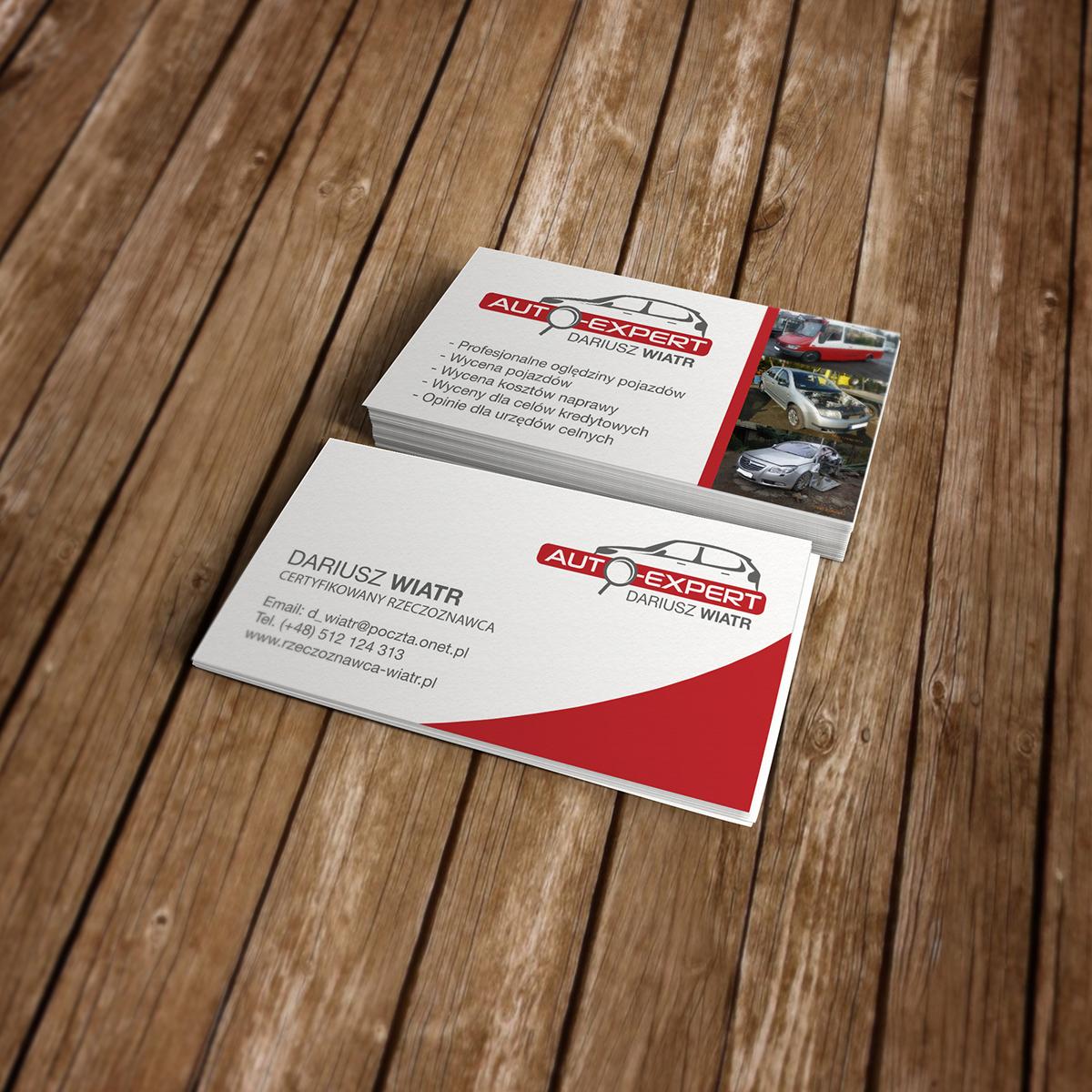 AutoExpert logo and business cards on Behance