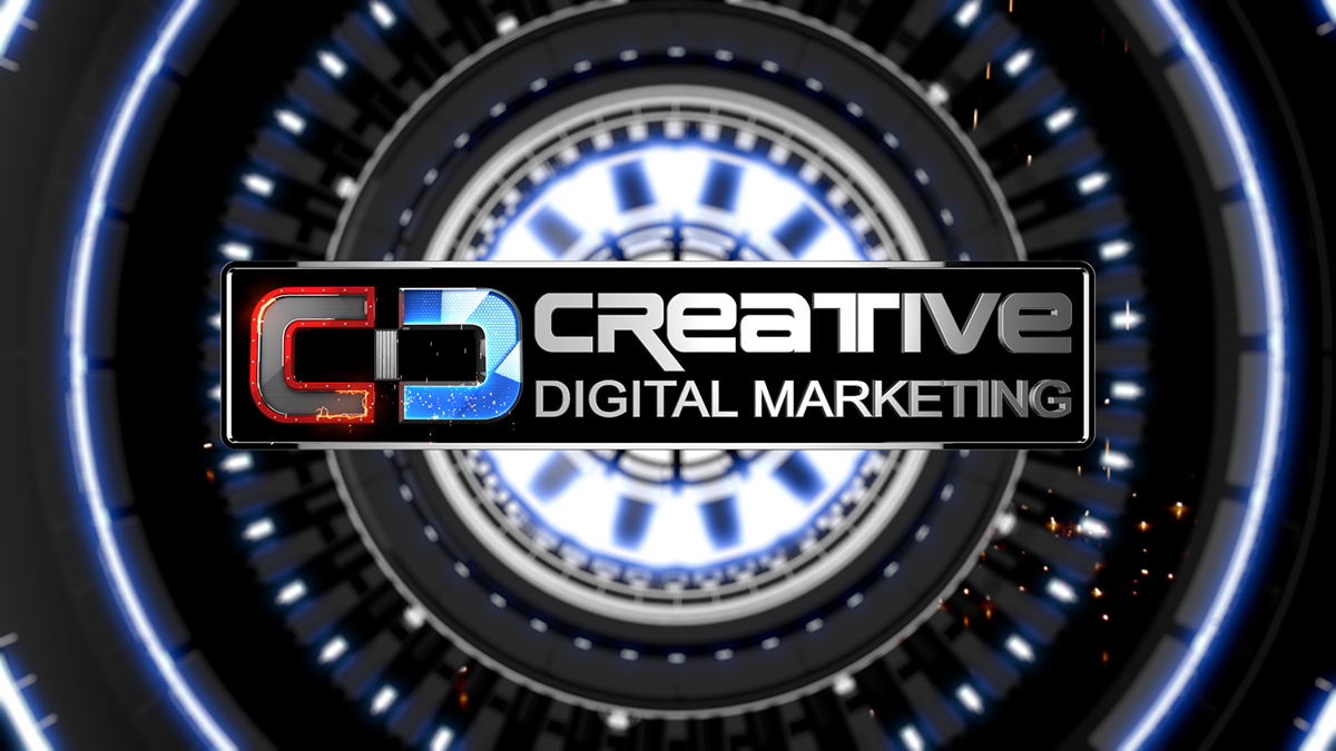 Creative Digital Marketing - Logo Design on Behance