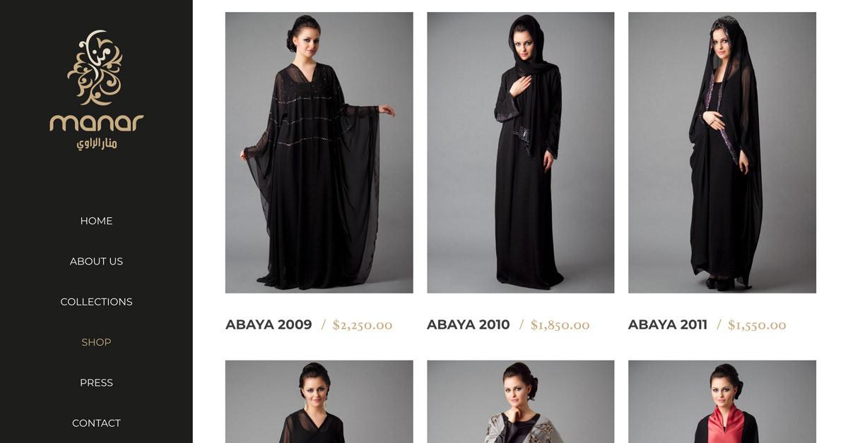 Jeddah Saudi Arabia Fashion Abaya Branding On Behance