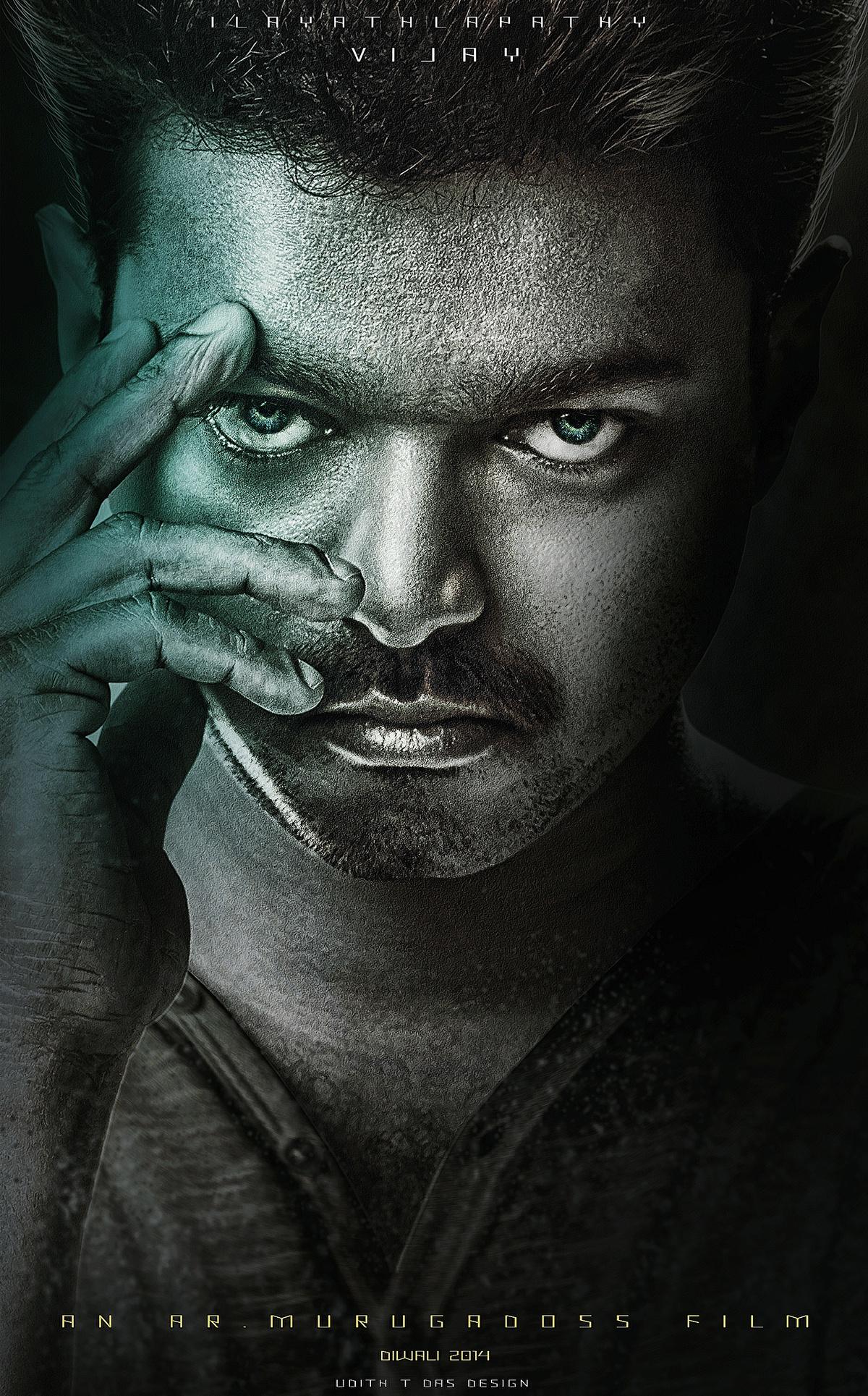 kaththi promo poster on behance