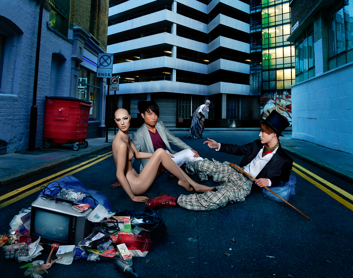 Adobe Portfolio London Street street fashion