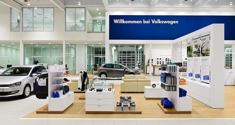 VW Car Dealership Showroom On Behance