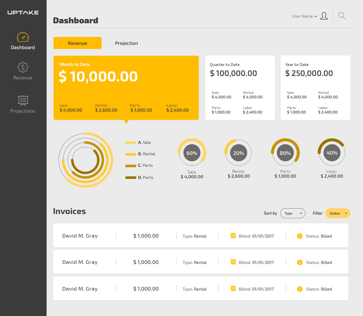 Invoice App Ui Design On Behance