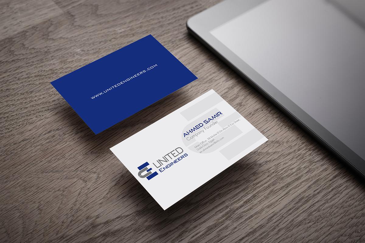 blank business card design mockup psd file free download - 1000×667