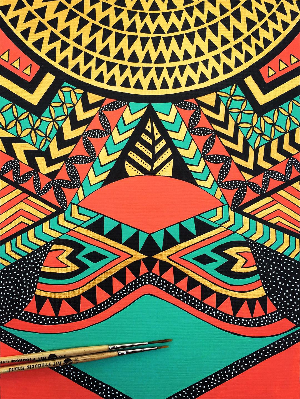 Tribal/Ethnic Pattern Designs on Behance - photo#35