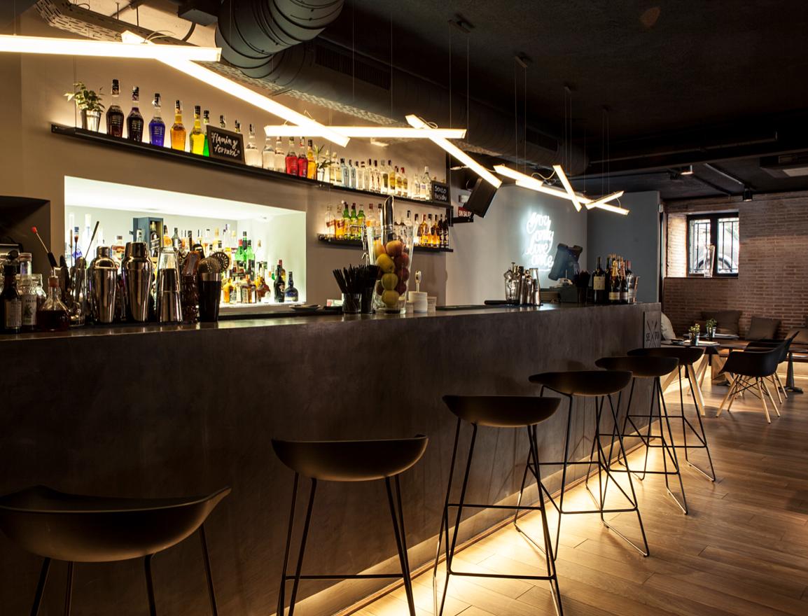 Interior Design Identity Sexto Restaurant On Behance