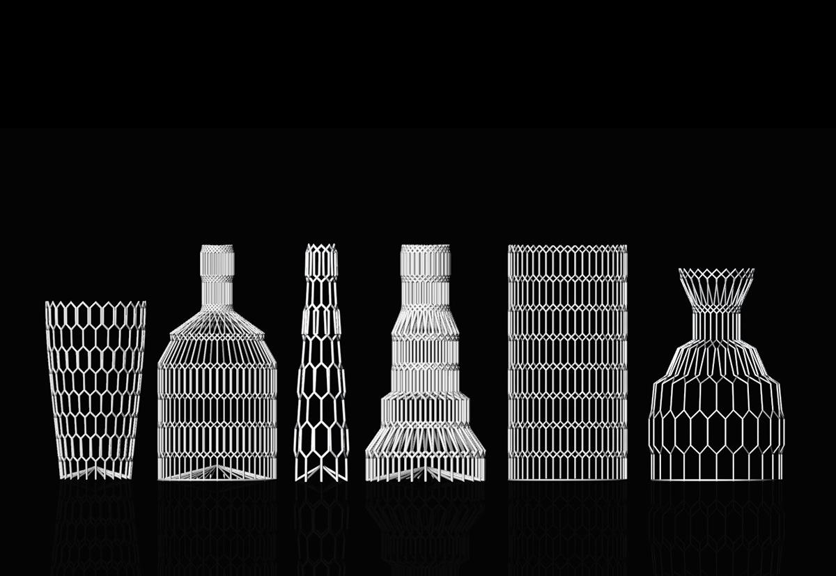 Rhino Rhino 3D 3d modeling Vase housewares