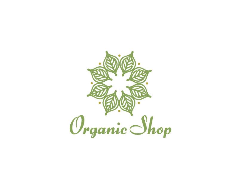 Organic Shop Logo For Sale On Behance